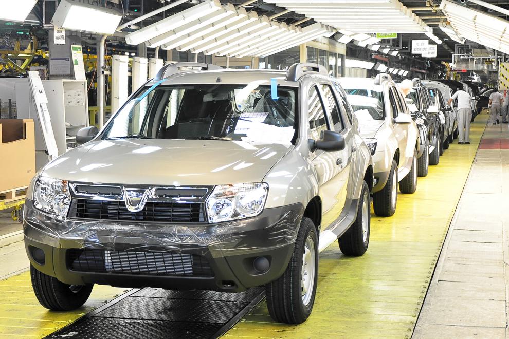 Fabrica de automobile Dacia, Piteşti, 2012.