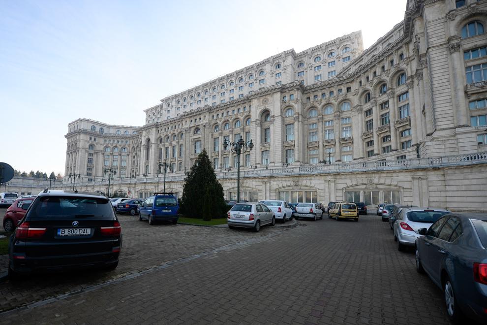 Palatul Parlamentului, Bucureşti, 2014.