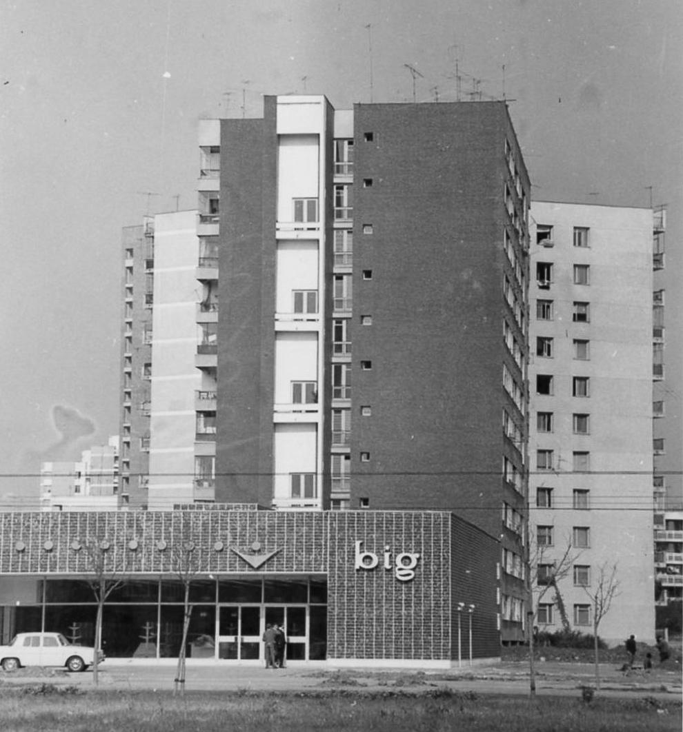 Magazinul Big din Titan.