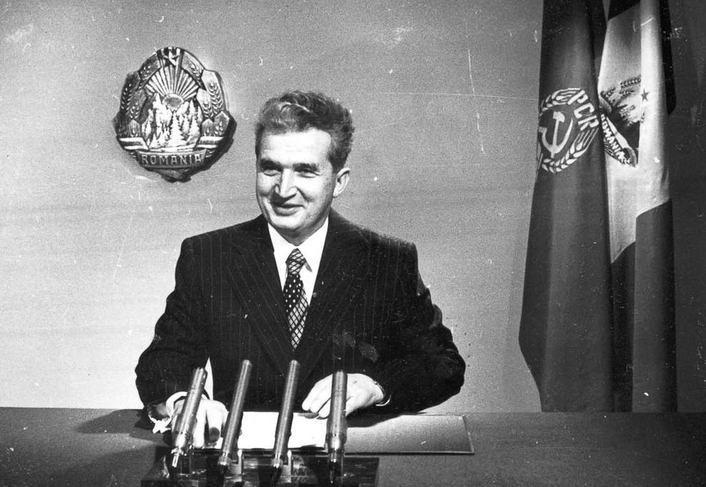 Cuvântarea tovarăşului Nicolae Ceauşescu în noaptea de Revelion.