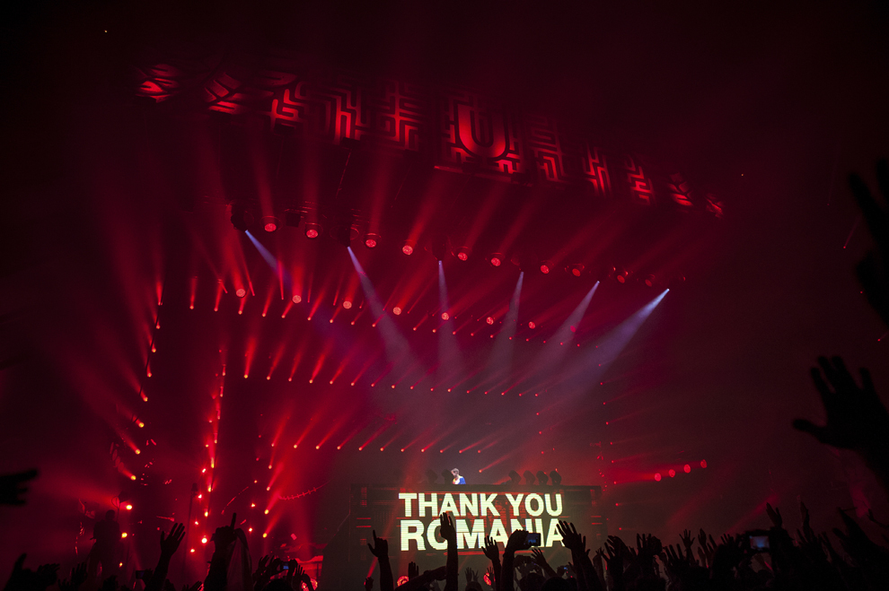 Armin van Buuren mixeaza in cadrul festivalului Untold, pe Cluj Arena, sambata, 1 august 2015.
