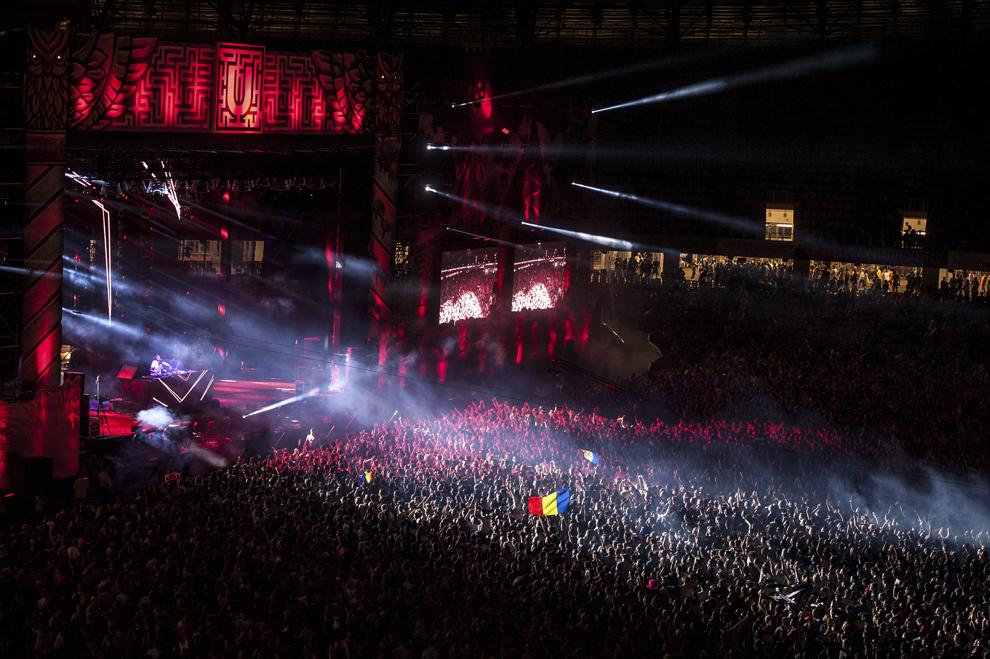 Sunnery James & Ryan Marciano mixeaza in cadrul festivalului Untold, pe Cluj Arena, sambata, 1 august 2015.