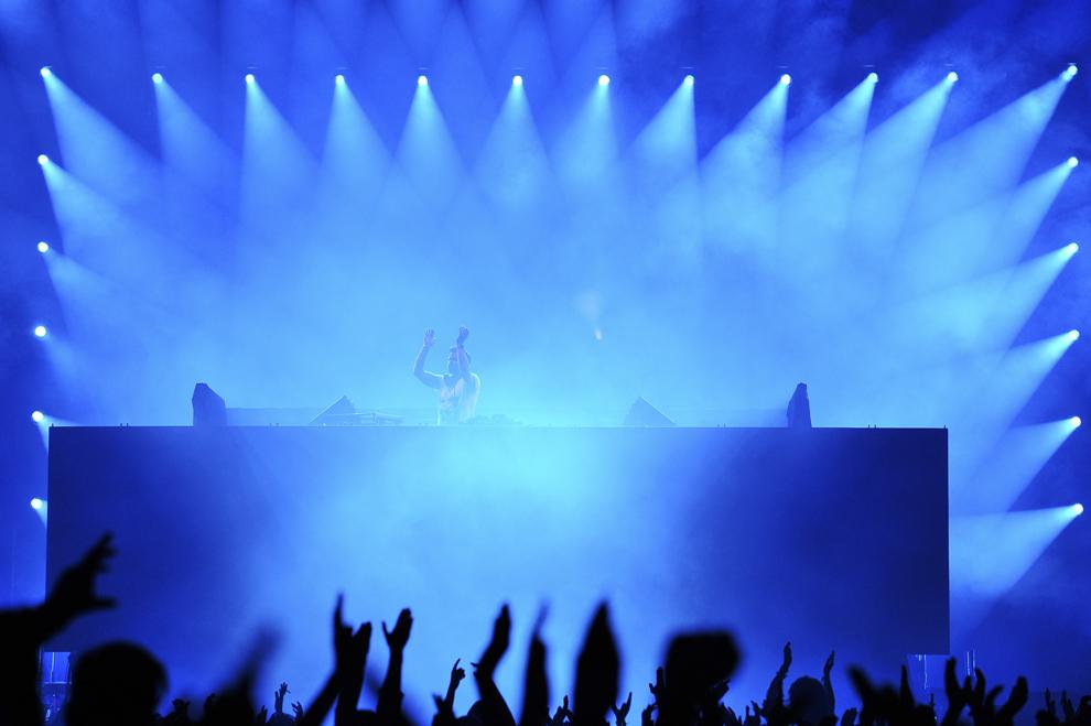 ATB sustine un concert in prima zi a festivalului Untold, pe stadionul Cluj Arena, in Cluj-Napoca, joi, 30 iulie 2015.