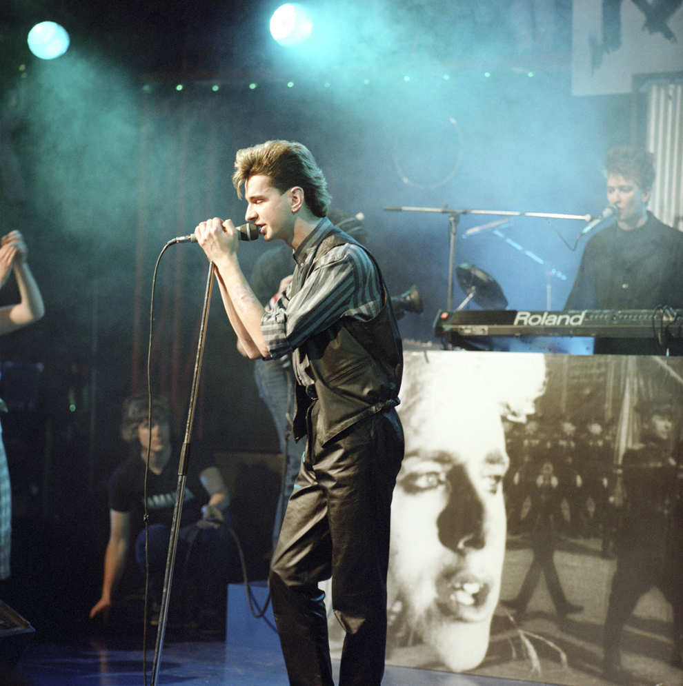 'The Tube' - Depeche Mode - Dave Gahan, 30 martie 1984.