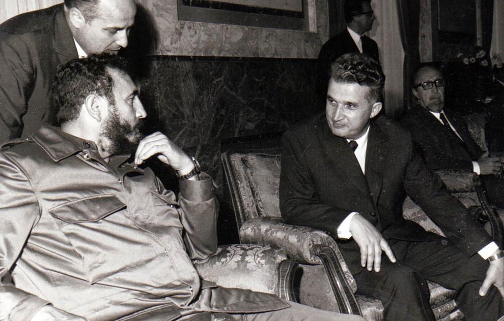 Întâlniri prieteneşti între preşedintele Nicolae Ceauşescu şi Fidel Castro Ruz, cu prilejul vizitei sale în R.S.R.(mai 1972).
