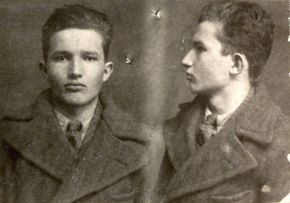 Nicolae Ceauşescu arestat de poliţia din Târgovişte. (1936).