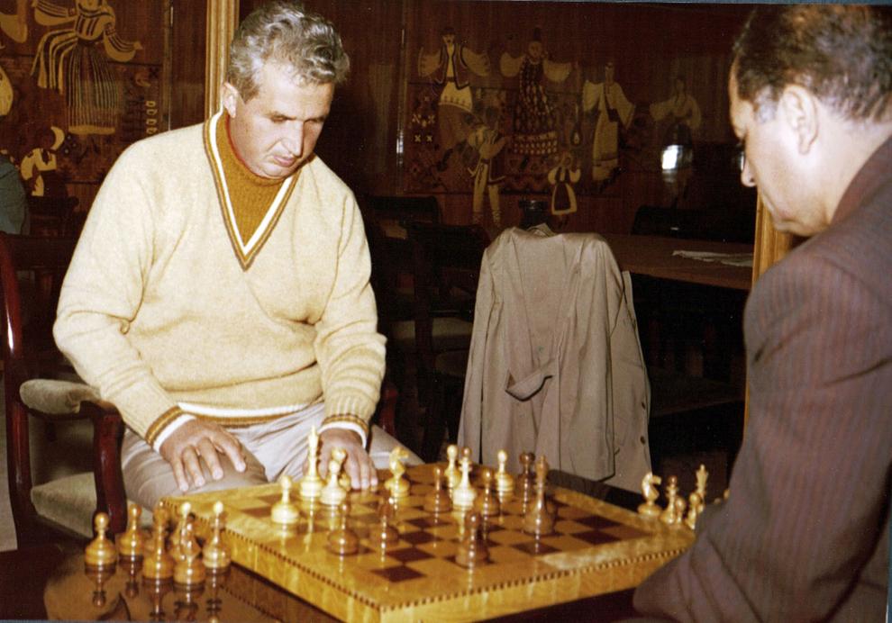 Nicolae şi Elena Ceauşescu in Moldova şi Delta în vara lui 1976.