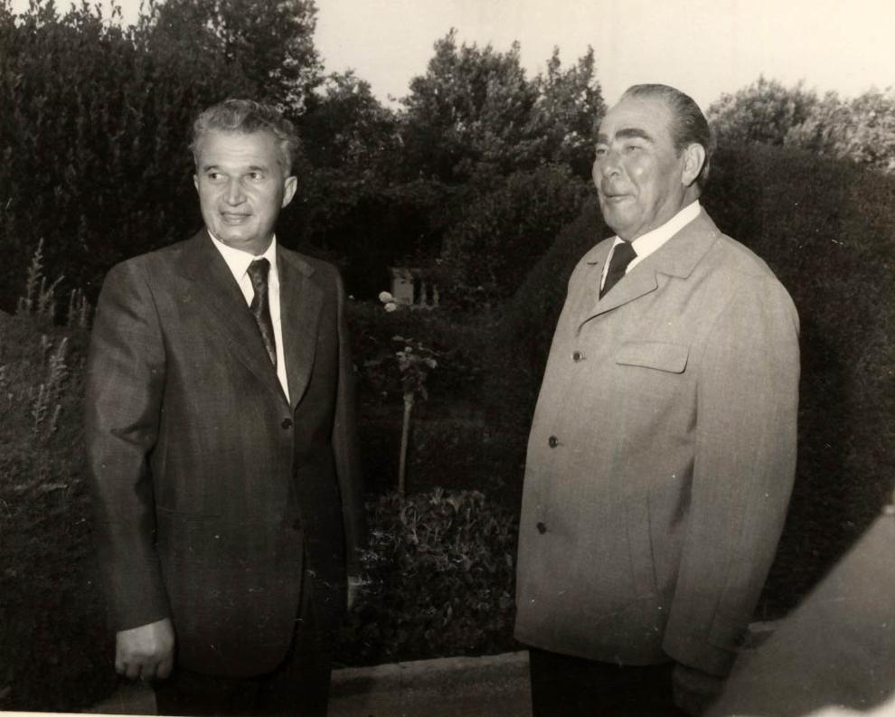 Aflat în Uniunea Sovietică, la invitaţia C.C. al P.C.U.S. pentru a-şi petrece o parte a concediului de odihnă, Nicolae Ceauşescu s-a întâlnit la 3 august 1976, în Crimeea, cu Leonid Ilici Brejnev, secretar general al C.C. al P.C.U.S. (2-12 august 1976)