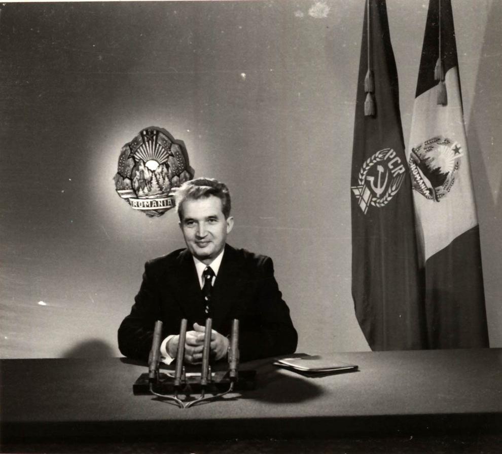 Mesajul de Anul Nou adresat întregului popor, la posturile de radio şi televiziune, de Nicolae Ceauşescu. (31 decembrie 1976)