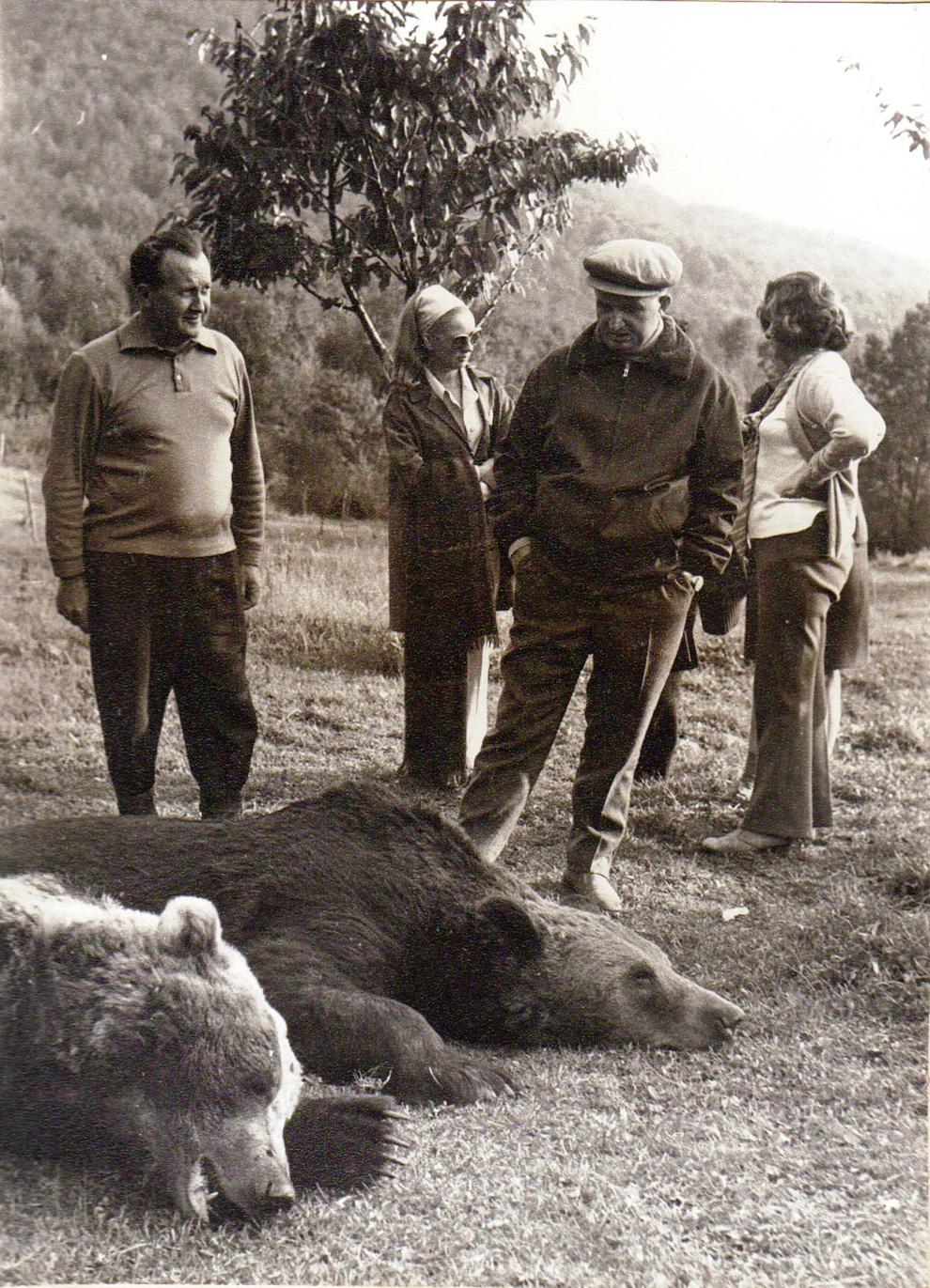 Vanatoare Bistrita Septembrie 1972.