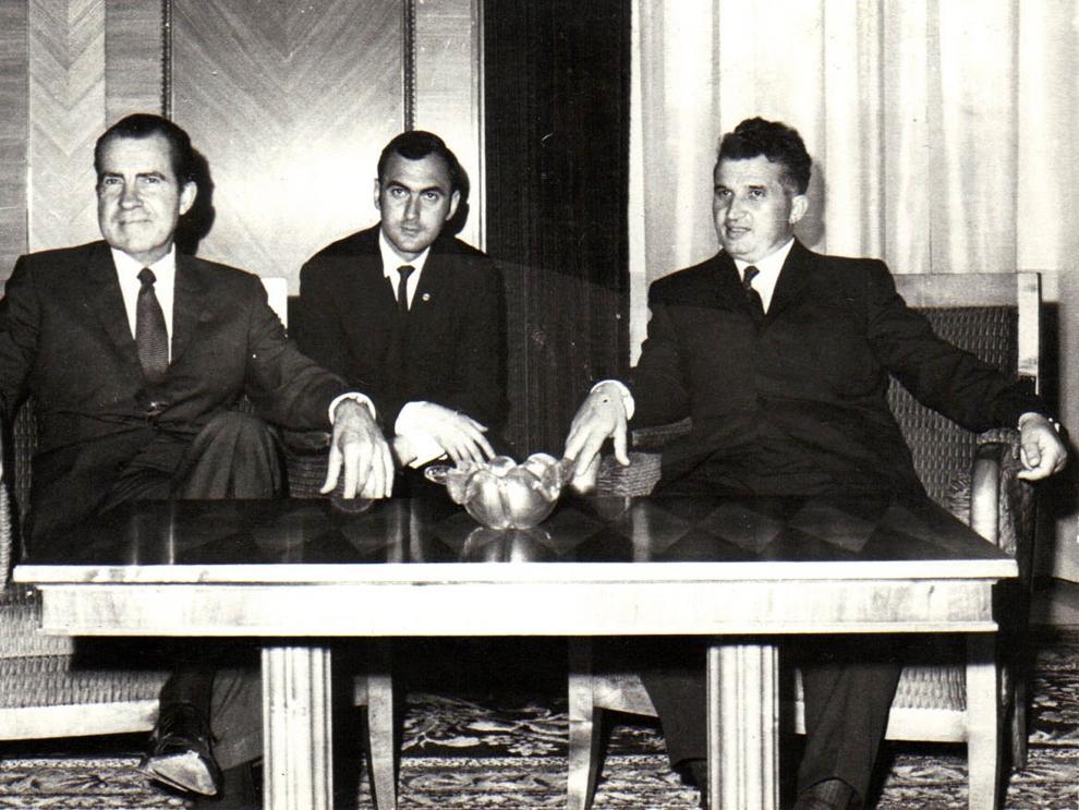 Primirea la Nicolae Ceauşescu a preşedintelui Richard Nixon, care a întreprins o vizită oficială în România. (2-3 august 1969).