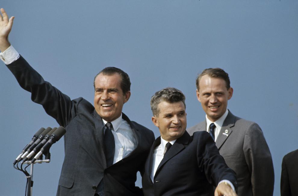 Vizita oficială a preşedintelui Richard Milhous Nixon în România, 2 august 1969.