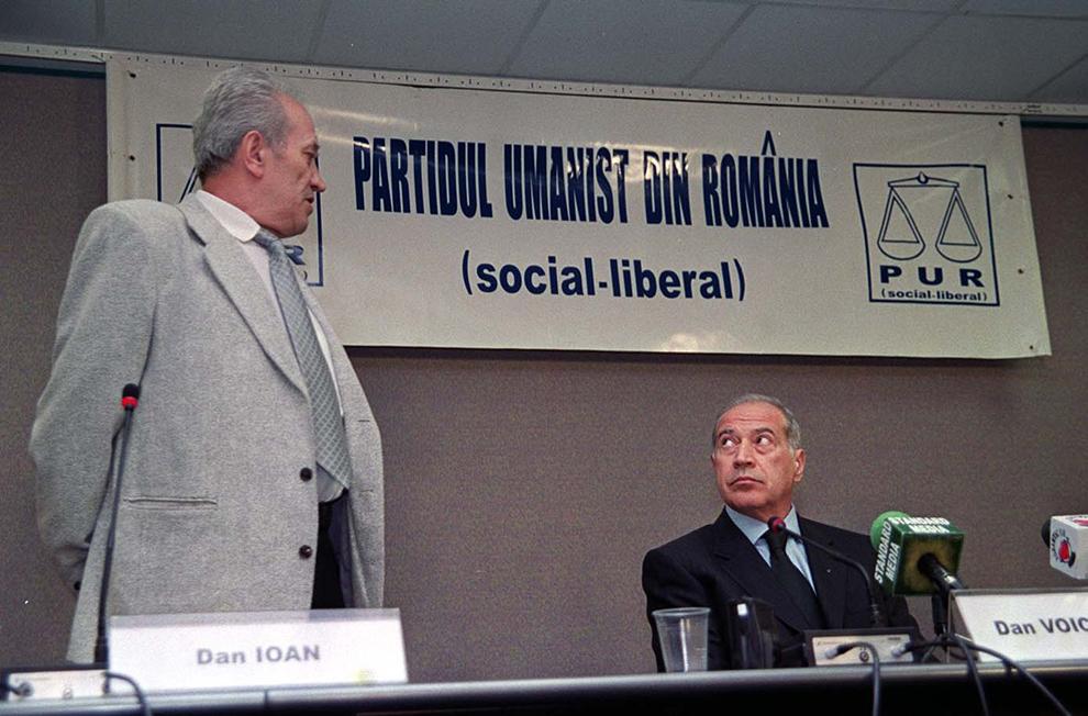 Partidul Umanist din România a fuzionat cu Partidul Liberal Creştin, protocolul de fuziune fiind semnat marţi, 21 mai 2002, de preşedinţii celor două formaţiuni politice, Dan Voiculescu (D) şi Dan Ioan (S).