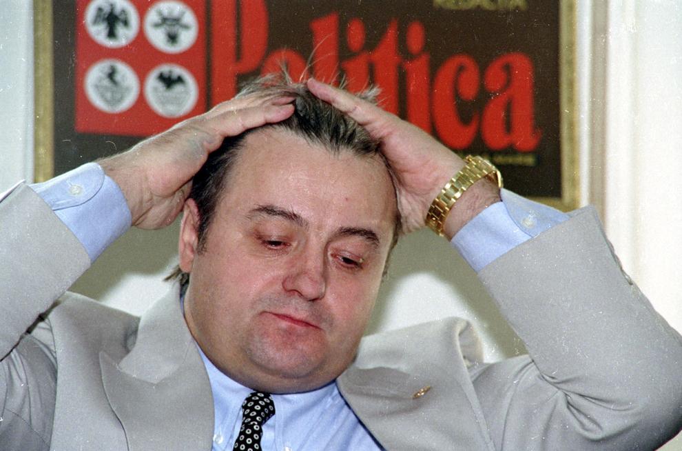 Corneliu Vadim Tudor, Bucureşti, 6  mai 1995.