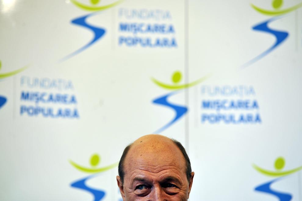 """Preşedintele Traian Băsescu participă la o dezbatere publică intitulată """"Statul de drept – între modelul european şi realitatea din România"""", organizată de Fundaţia Mişcarea Populară, în Cluj-Napoca, duminică, 9 februarie 2014."""