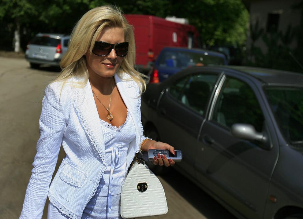 Elena Udrea, 22 Martie 2006.