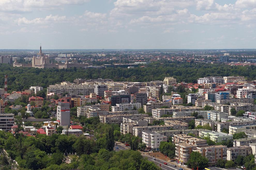 Cartierul Aviaţiei, Casa Presei şi parcul Herăstrău.