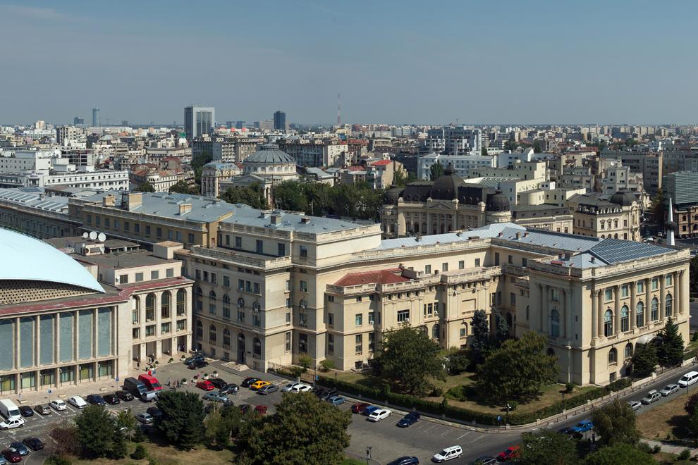Palatul Regal, Muzeul Naţional de Artă al României, Ateneul Român, Sala Palatului.