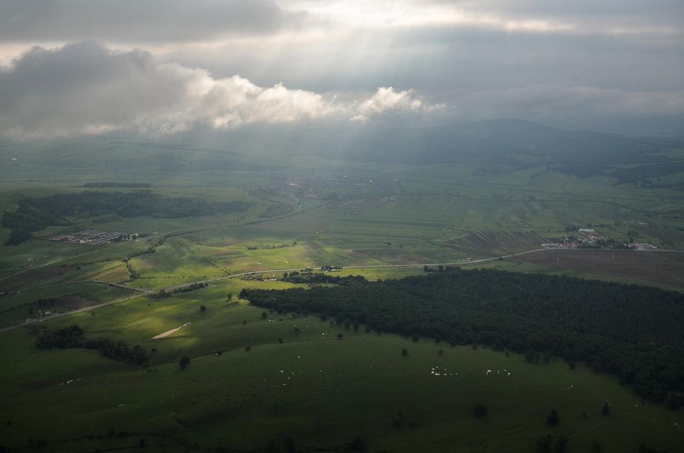 Peisaj din Mureş.