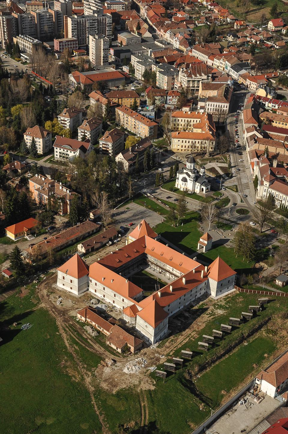 Cetatea din Miercurea Ciuc.