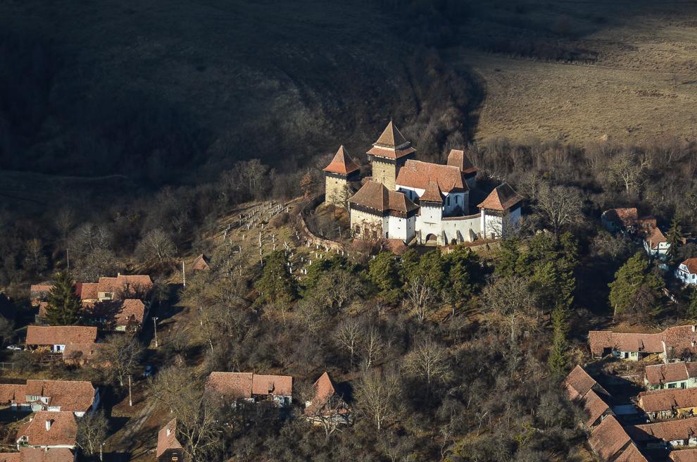 Biserica fortificată Viscri.