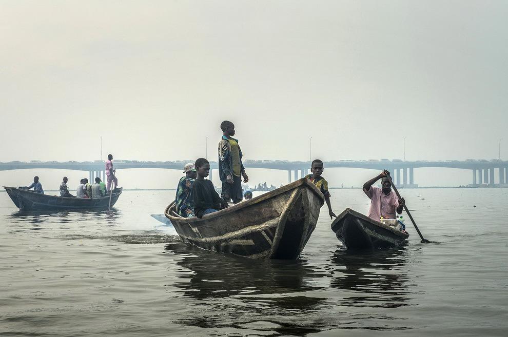 Makoko, coşmarul plutitor