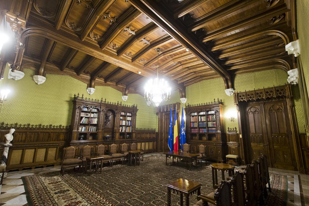Salonul Muşatinilor, Palatul Cotroceni, marţi, 23 septembrie 2014.