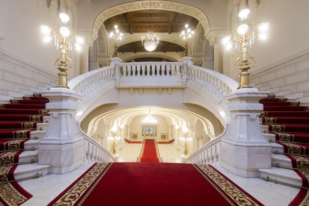 Holul de Onoare, Palatul Cotroceni, marţi, 23 septembrie 2014.