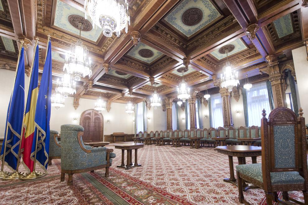 Salonul Brâncovenesc, Palatul Cotroceni, marţi, 23 septembrie 2014.