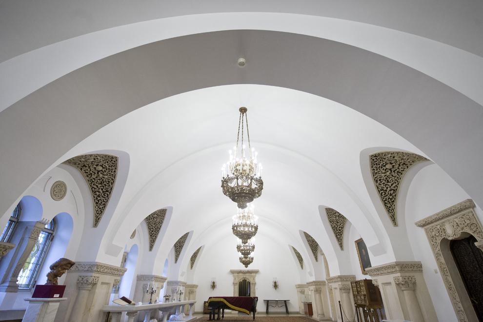 Marele Salon de Recepţie, Muzeul Cotroceni, Palatul Cotroceni, marţi, 23 septembrie 2014.