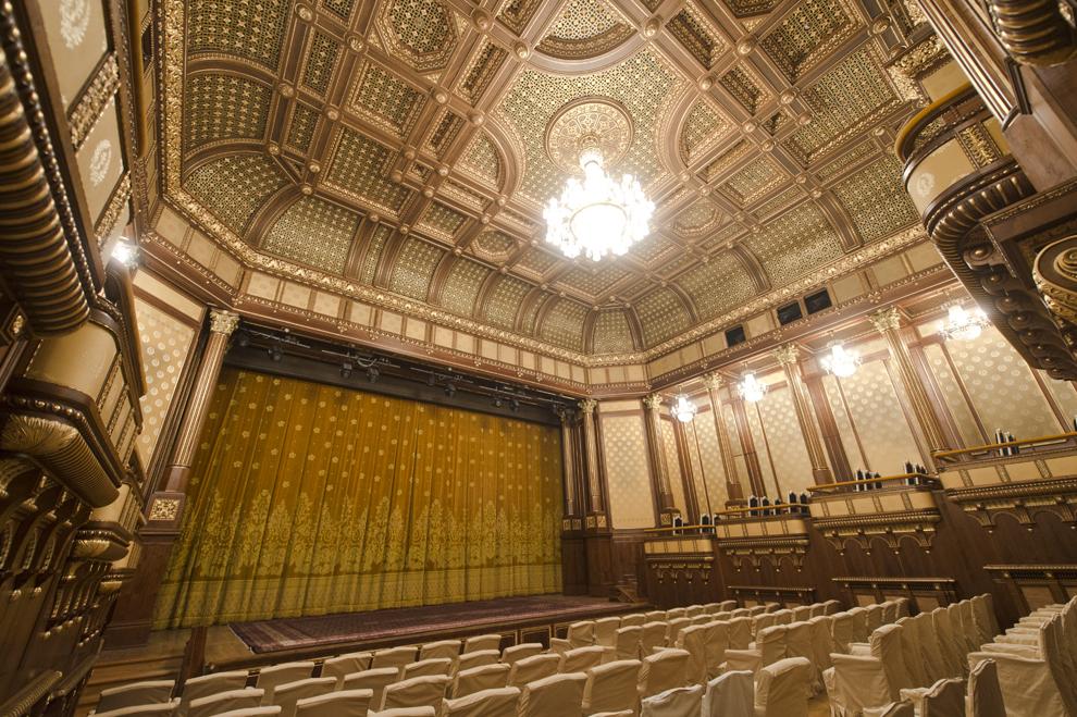 Sala de Spectacole, Palatul Cotroceni, marţi, 23 septembrie 2014.
