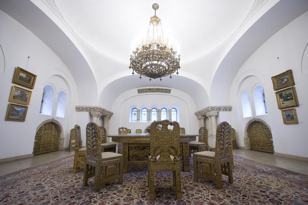 Sala Tezaur, Muzeul Cotroceni, Palatul Cotroceni, marţi, 23 septembrie 2014.