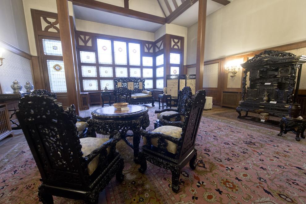 Salonul Oriental, Muzeul Cotroceni, Palatul Cotroceni, marţi, 23 septembrie 2014.