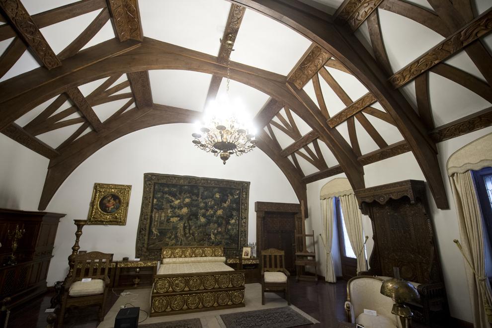 Dormitorul Reginei Maria, Muzeul Cotroceni, Palatul Cotroceni, marţi, 23 septembrie 2014.