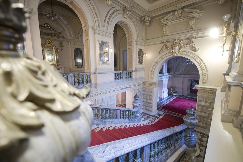 Holul de Onoare, Muzeul Cotroceni, Palatul Cotroceni, marţi, 23 septembrie 2014.
