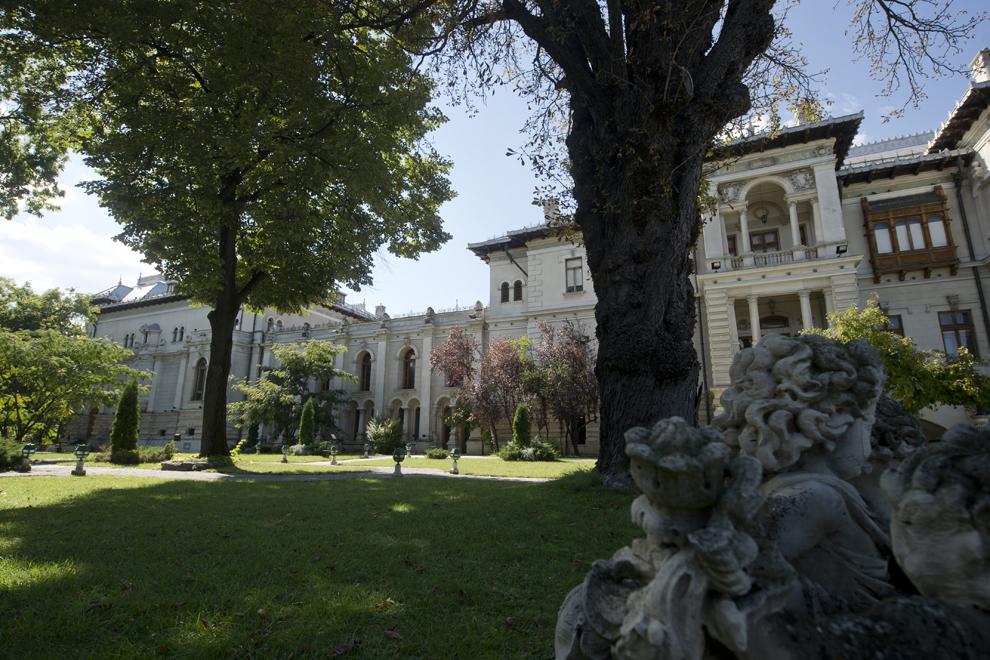 Grădina Palatului Cotroceni, miercuri, 24 septembrie 2014.