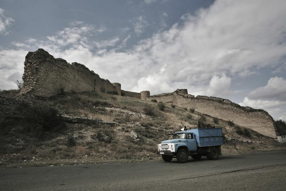 Fortăreaţa Mayraberd Askeran, construită în 1751, localizată in oraşul Askeran, la 14km est de Stepanakert, Nagorno-Karabah, vineri, 19 septembrie 2008.