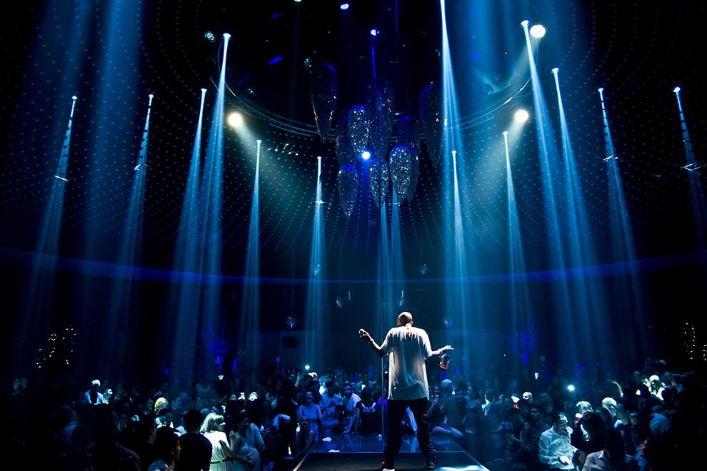 Rapperul american DMX (Earl Simmons) susţine un concert în Bucureşti, vineri, 27 martie 2015.