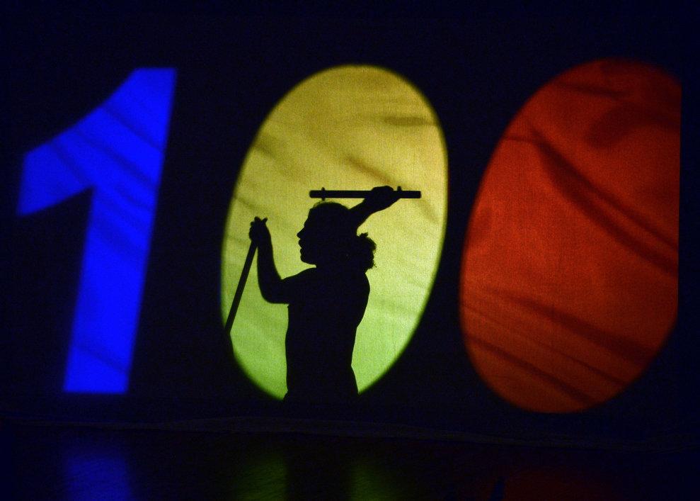 Imagine din timpul aniversarii Centenarului Olimpismului Românesc, organizat de Comitetul Olimpic si Sportiv Român, la Ateneul Român, in Bucuresti, vineri, 12 septembrie 2014. LAURENTIU MICH / MEDIAFAX FOTO