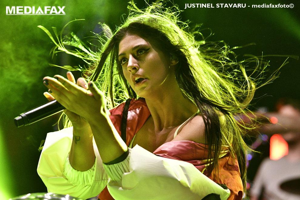 Antonia sustine un concert cu ocazia Zilelor Severinului 2018, duminica, 22 aprilie 2018, Drobeta Turnu Severin. JUSTINEL STAVARU/MEDIAFAX FOTO
