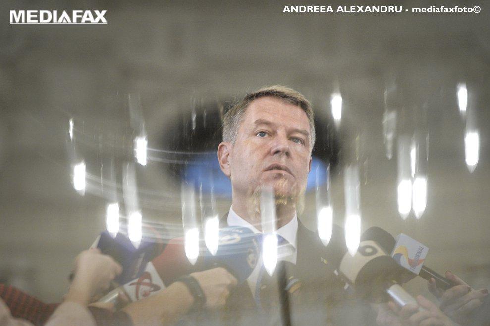 Presedintele Klaus Iohannis sustine o declaratie de presa la Palatului Cotroceni, marti, 13 noiembrie 2018. ANDREEA ALEXANDRU / MEDIAFAX FOTO