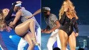 Cum arată Mariah Carey, în costum de baie, la 45 de ani! Photoshop sau dietă minune?
