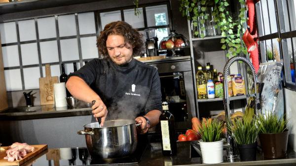 Chef Florin Dumitrescu - cursuri de gătit pentru o vegetariană - FOTO