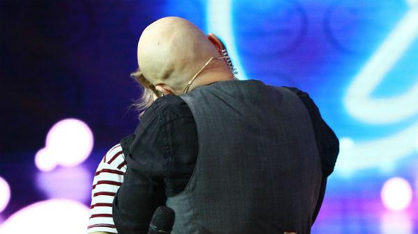 Mihai Bendeac, sărut cu Ana Maria Caliţa, una dintre cele mai îndrăgite foste concurente ale emisiunii iUmor