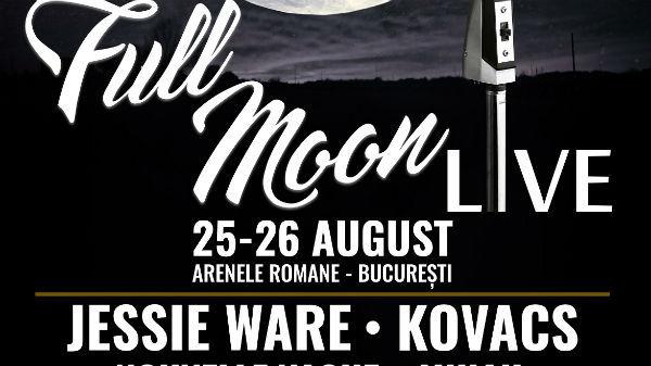 Jessie Ware, Kovacs, Nouvelle Vague, Mihail vin pe 25 – 26 august la Full Moon Live 2018