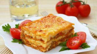 Lasagna de vită à la Gordon Ramsay - super gustoasă şi crocantă