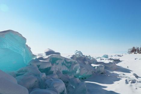 Lacul de Nord Baikal, Rusia