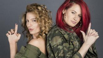 """Raluka şi Ana Baniciu, o pereche sexy: """"Ne completăm foarte bine. Nu vrem să vă dăm de gândit!"""""""