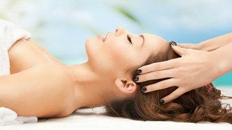 Masajul scapului - Efect anti-stres şi un păr energizat