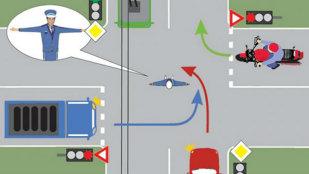 Eşti un bun şofer? Spune cine intră în intersecţie! 8 din 10 greşesc răspunsul